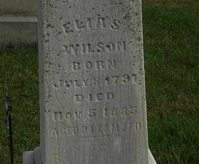 WILSON, ELIAS - Morrow County, Ohio | ELIAS WILSON - Ohio Gravestone Photos