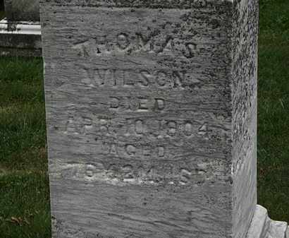WILSON, THOMAS - Morrow County, Ohio | THOMAS WILSON - Ohio Gravestone Photos
