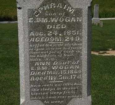 WOGAN, M. - Morrow County, Ohio | M. WOGAN - Ohio Gravestone Photos