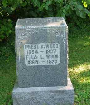 WOOD, ELLA L. - Morrow County, Ohio | ELLA L. WOOD - Ohio Gravestone Photos