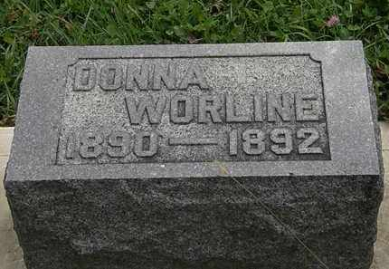 WORLINE, DONNA - Morrow County, Ohio | DONNA WORLINE - Ohio Gravestone Photos
