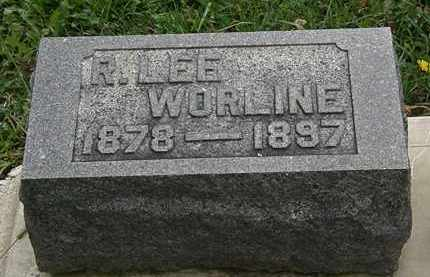 WORLINE, R. LEE - Morrow County, Ohio | R. LEE WORLINE - Ohio Gravestone Photos