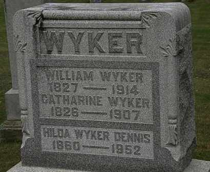 WYKER, CATHARINE - Morrow County, Ohio | CATHARINE WYKER - Ohio Gravestone Photos