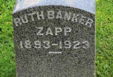 ZAPP, RUTH - Morrow County, Ohio | RUTH ZAPP - Ohio Gravestone Photos