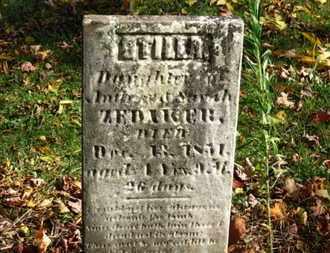 ZEDAKER, OTILLA - Morrow County, Ohio | OTILLA ZEDAKER - Ohio Gravestone Photos