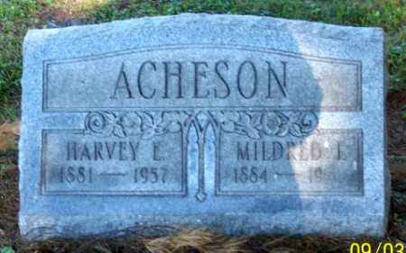 ACHESON, HARVEY E. - Muskingum County, Ohio | HARVEY E. ACHESON - Ohio Gravestone Photos