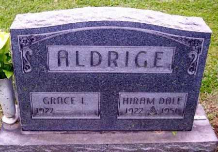 ALDRIGE, HIRAM DALE - Muskingum County, Ohio | HIRAM DALE ALDRIGE - Ohio Gravestone Photos