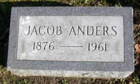 ANDERS, JACOB - Muskingum County, Ohio | JACOB ANDERS - Ohio Gravestone Photos