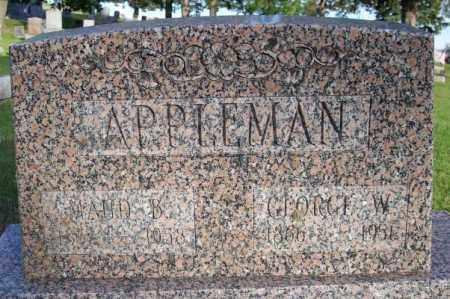 APPLEMAN, MAUD B. - Muskingum County, Ohio | MAUD B. APPLEMAN - Ohio Gravestone Photos