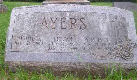 AYERS, LILLIAN - Muskingum County, Ohio | LILLIAN AYERS - Ohio Gravestone Photos