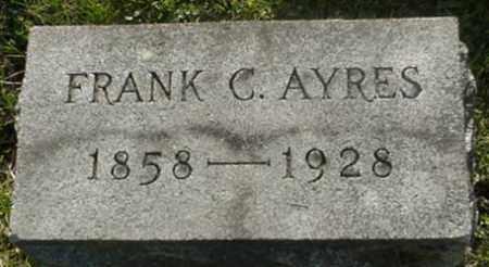AYRES, FRANK C. - Muskingum County, Ohio | FRANK C. AYRES - Ohio Gravestone Photos