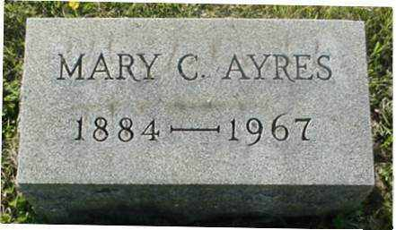 AYRES, MARY C. - Muskingum County, Ohio | MARY C. AYRES - Ohio Gravestone Photos