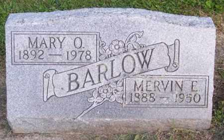 BARLOW, MERVIN E. - Muskingum County, Ohio | MERVIN E. BARLOW - Ohio Gravestone Photos