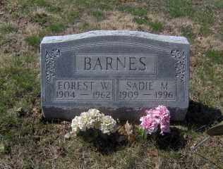 BARNES, FOREST W - Muskingum County, Ohio | FOREST W BARNES - Ohio Gravestone Photos