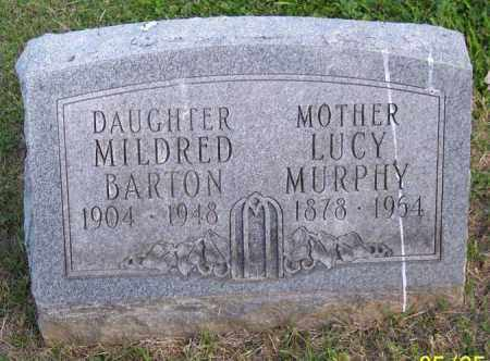 MURPHY BARTON, MILDRED - Muskingum County, Ohio | MILDRED MURPHY BARTON - Ohio Gravestone Photos