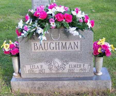 BAUGHMAN, ELMER E. - Muskingum County, Ohio | ELMER E. BAUGHMAN - Ohio Gravestone Photos