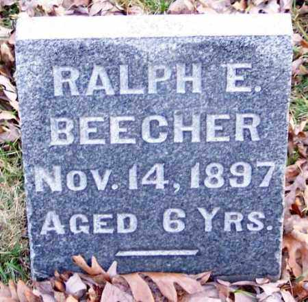 BEECHER, RALPH E. - Muskingum County, Ohio | RALPH E. BEECHER - Ohio Gravestone Photos