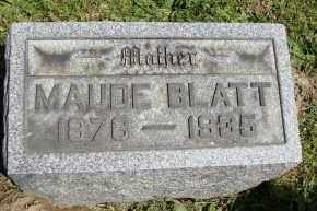 MCFARLAND BLATT, MAUDE - Muskingum County, Ohio | MAUDE MCFARLAND BLATT - Ohio Gravestone Photos