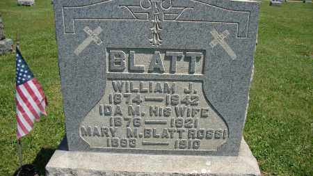 BLATT ROSSI, MARY M - Muskingum County, Ohio | MARY M BLATT ROSSI - Ohio Gravestone Photos