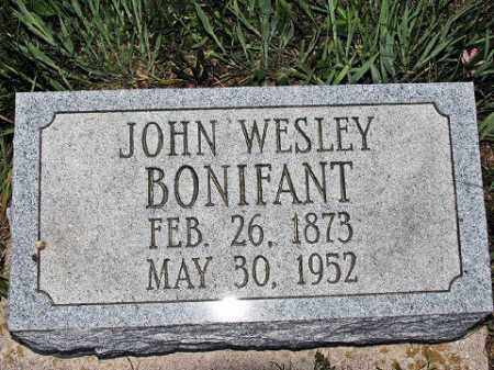 BONIFANT, JOHN W - Muskingum County, Ohio | JOHN W BONIFANT - Ohio Gravestone Photos