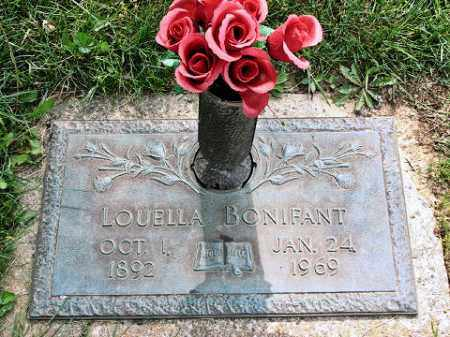 BONIFANT, LOUELLA - Muskingum County, Ohio | LOUELLA BONIFANT - Ohio Gravestone Photos