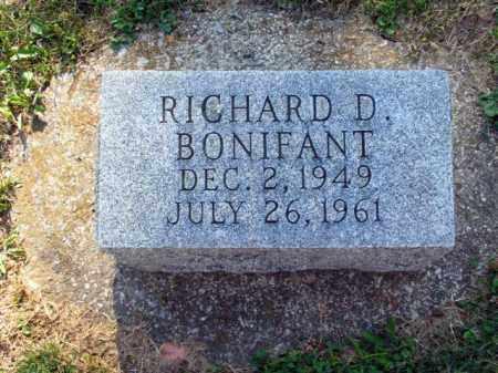 BONIFANT, RICHARD D. - Muskingum County, Ohio | RICHARD D. BONIFANT - Ohio Gravestone Photos
