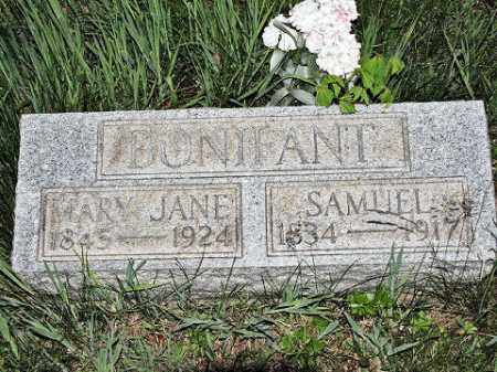BONIFANT, MARY JANE - Muskingum County, Ohio | MARY JANE BONIFANT - Ohio Gravestone Photos