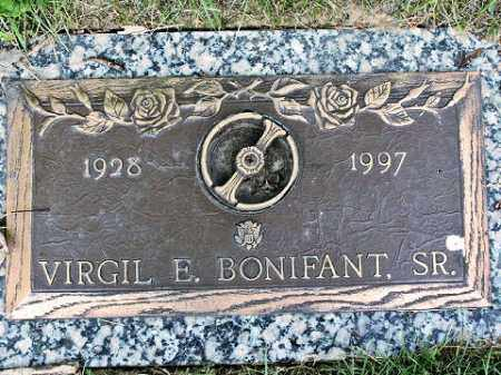 BONIFANT, VIRGIL E. - Muskingum County, Ohio | VIRGIL E. BONIFANT - Ohio Gravestone Photos