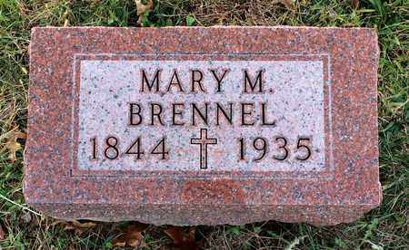 BRENNEL, MARY M. - Muskingum County, Ohio | MARY M. BRENNEL - Ohio Gravestone Photos