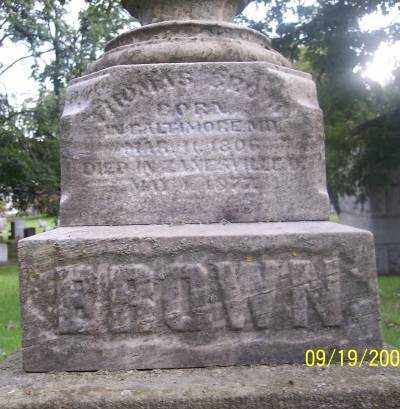 BROWN, THOMAS - Muskingum County, Ohio | THOMAS BROWN - Ohio Gravestone Photos