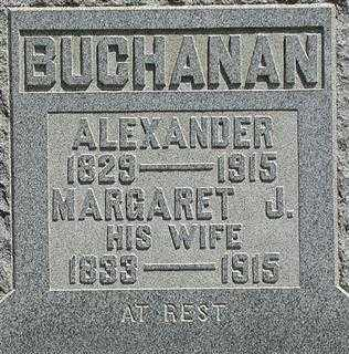 MCDONALD BUCHANAN, MARGARET J. - Muskingum County, Ohio | MARGARET J. MCDONALD BUCHANAN - Ohio Gravestone Photos