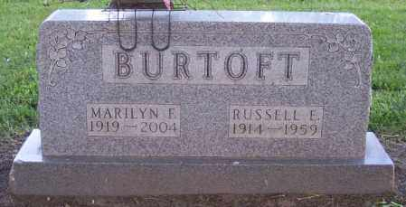 BURTOFF, MARILYN F. - Muskingum County, Ohio | MARILYN F. BURTOFF - Ohio Gravestone Photos