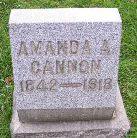 CANNON, AMANDA ALICE - Muskingum County, Ohio | AMANDA ALICE CANNON - Ohio Gravestone Photos