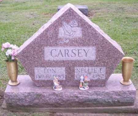 CARSEY, NELLIE E. - Muskingum County, Ohio | NELLIE E. CARSEY - Ohio Gravestone Photos