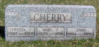 CHERRY, JOHN - Muskingum County, Ohio | JOHN CHERRY - Ohio Gravestone Photos