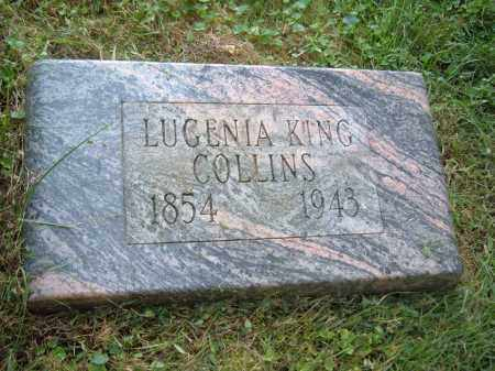 COLLINS, LUGENIA KING - Muskingum County, Ohio | LUGENIA KING COLLINS - Ohio Gravestone Photos