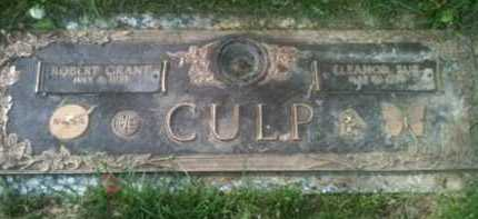 MORROW CULP, ELEANOR - Muskingum County, Ohio | ELEANOR MORROW CULP - Ohio Gravestone Photos