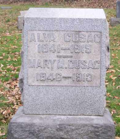 CUSAC, MARY MATILDA - Muskingum County, Ohio | MARY MATILDA CUSAC - Ohio Gravestone Photos