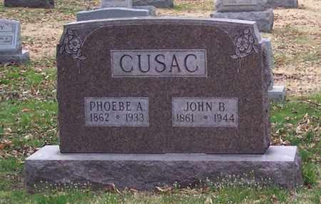 CUSAC, JOHN BELL - Muskingum County, Ohio | JOHN BELL CUSAC - Ohio Gravestone Photos