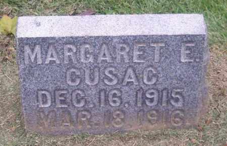 CUSAC, MARGARET E. - Muskingum County, Ohio | MARGARET E. CUSAC - Ohio Gravestone Photos