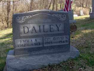 DAILEY, EMMA A - Muskingum County, Ohio | EMMA A DAILEY - Ohio Gravestone Photos