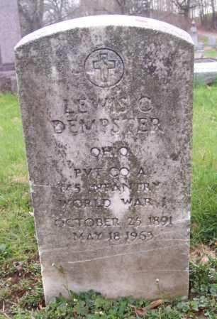 DEMPSTER, LEWIS C. - Muskingum County, Ohio | LEWIS C. DEMPSTER - Ohio Gravestone Photos
