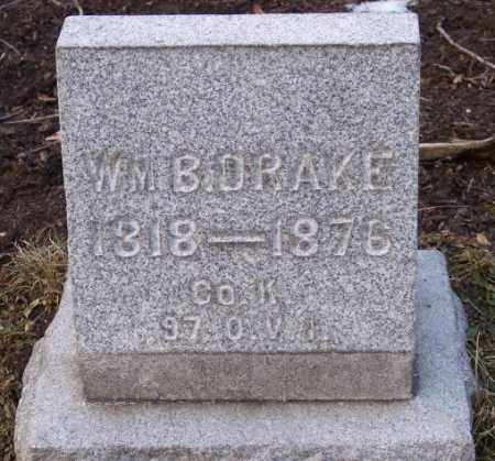 DRAKE, WILLIAM B. - Muskingum County, Ohio | WILLIAM B. DRAKE - Ohio Gravestone Photos