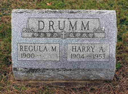 DRUMM, REGULAR - Muskingum County, Ohio | REGULAR DRUMM - Ohio Gravestone Photos