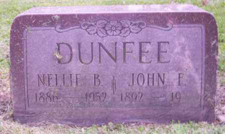DUNFEE, NELLIE B. - Muskingum County, Ohio | NELLIE B. DUNFEE - Ohio Gravestone Photos
