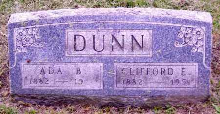 DUNN, CLIFFORD E. - Muskingum County, Ohio | CLIFFORD E. DUNN - Ohio Gravestone Photos