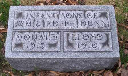 DUNN, DONALD - Muskingum County, Ohio | DONALD DUNN - Ohio Gravestone Photos