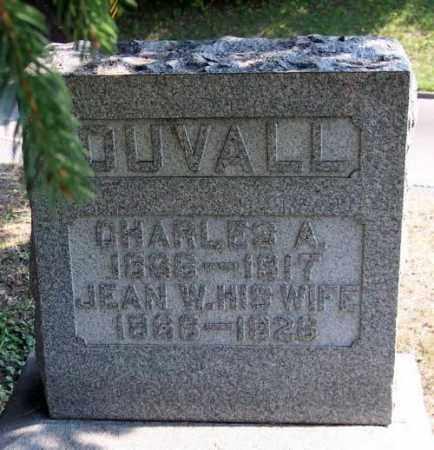 DUVALL, CHARLES A. - Muskingum County, Ohio | CHARLES A. DUVALL - Ohio Gravestone Photos