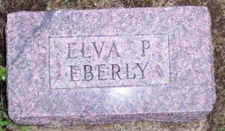 EBERLY, ELVA P. - Muskingum County, Ohio | ELVA P. EBERLY - Ohio Gravestone Photos