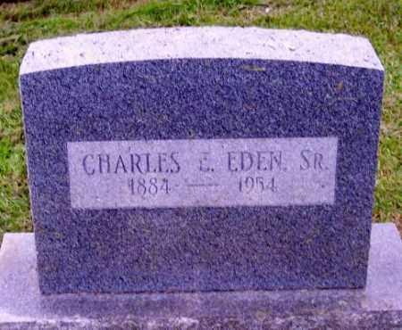 EDEN, CHARLES E. SR. - Muskingum County, Ohio | CHARLES E. SR. EDEN - Ohio Gravestone Photos